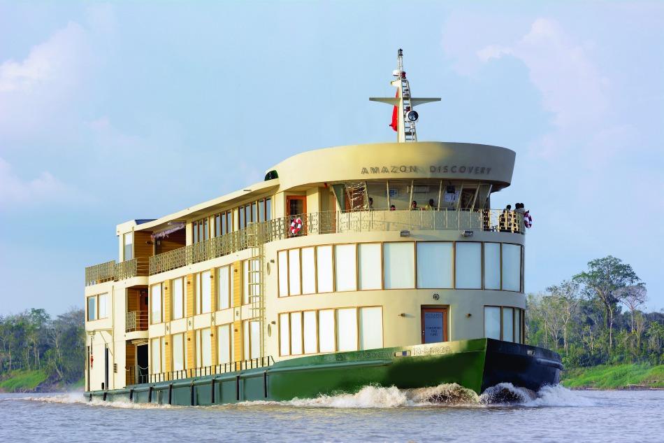 Avalon Amazon Discovery ship