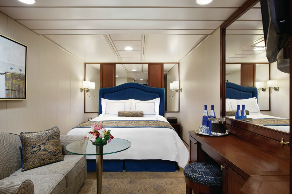stateroom on 5 star cruise line Oceania
