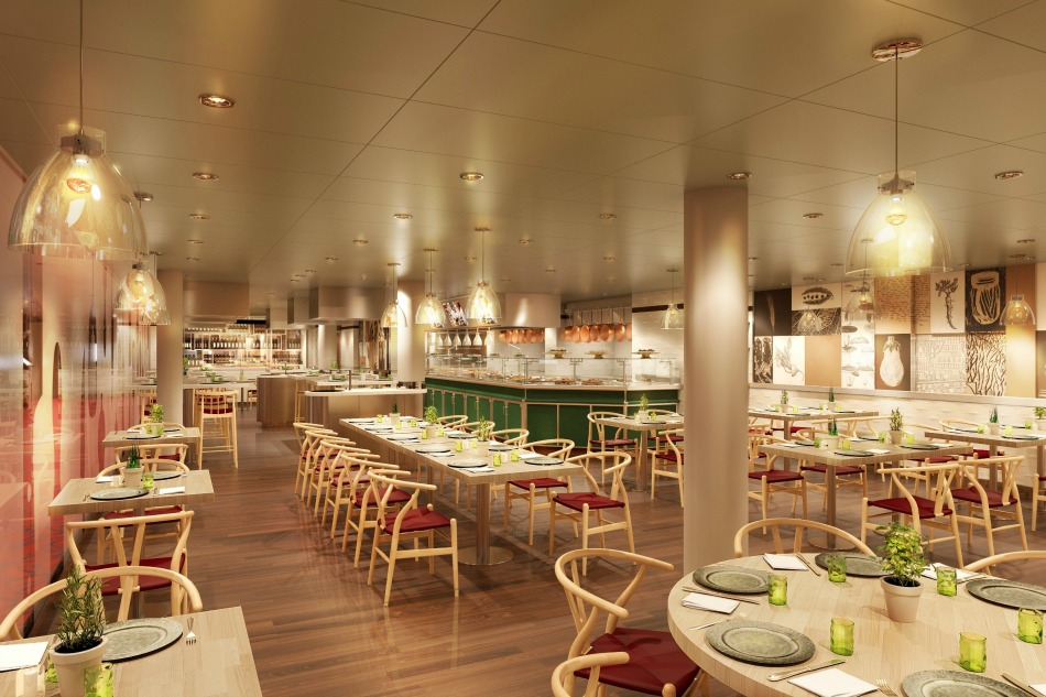 Holland America Koningsdam Culinary Arts Center