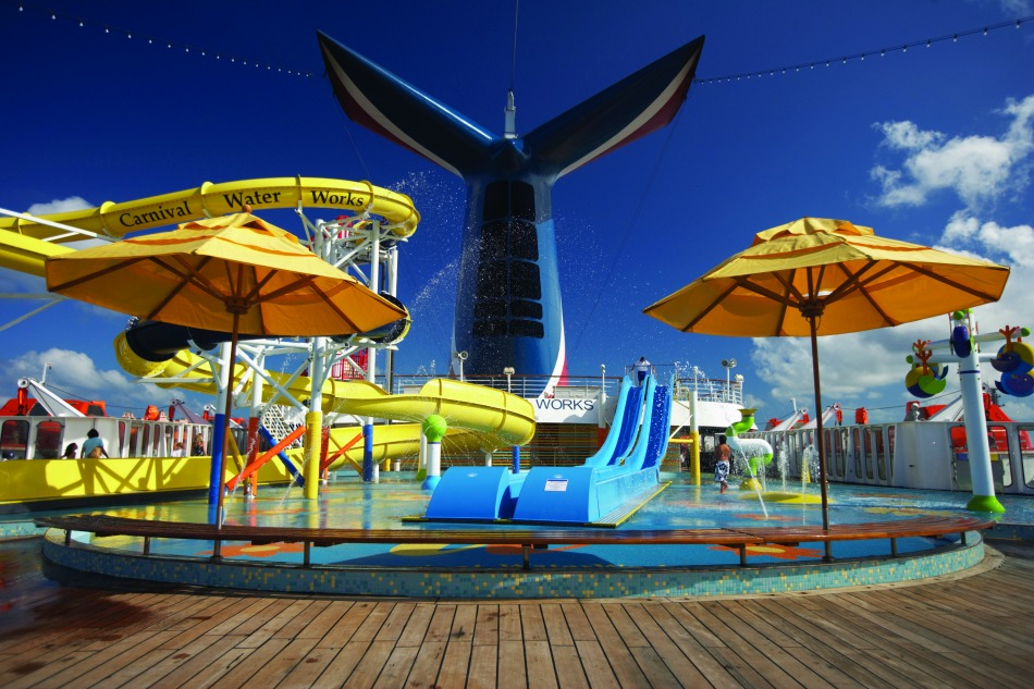 Carnival Vista Waterworks