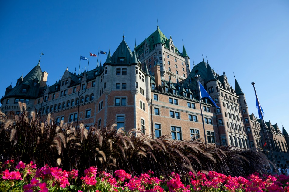 Chateau Frontenae in Quebec Canada