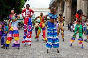 dancing in Cuba