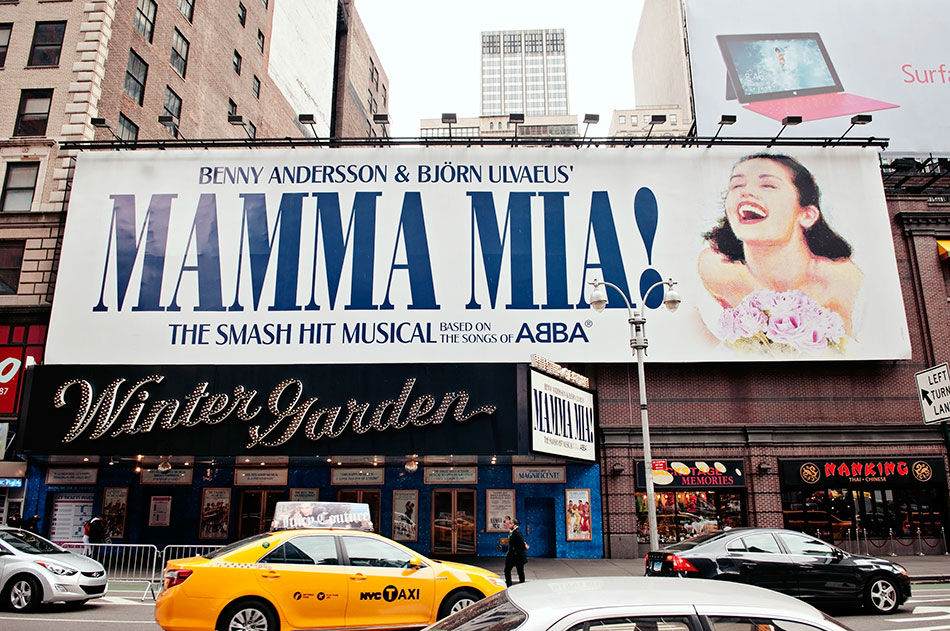 Broadway show Mamma Mia