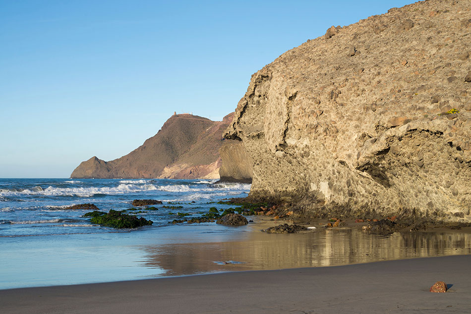 secret beaches Monsul, Andalusia