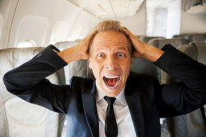 don't over stress on your flight