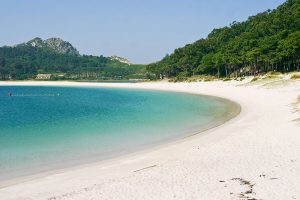 secret beach Cies Islands, Galicia