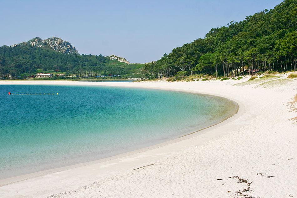 secret beach Cies Islands, Galicia