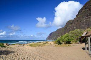 secret beach Polihale Beach, Kauai