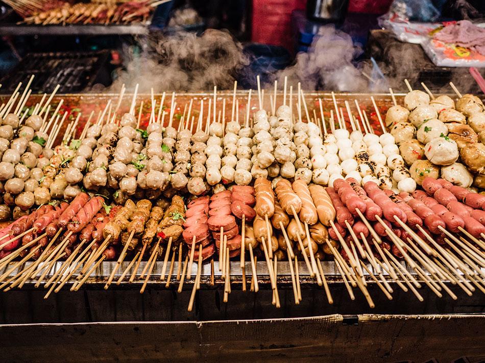 street food to avoid