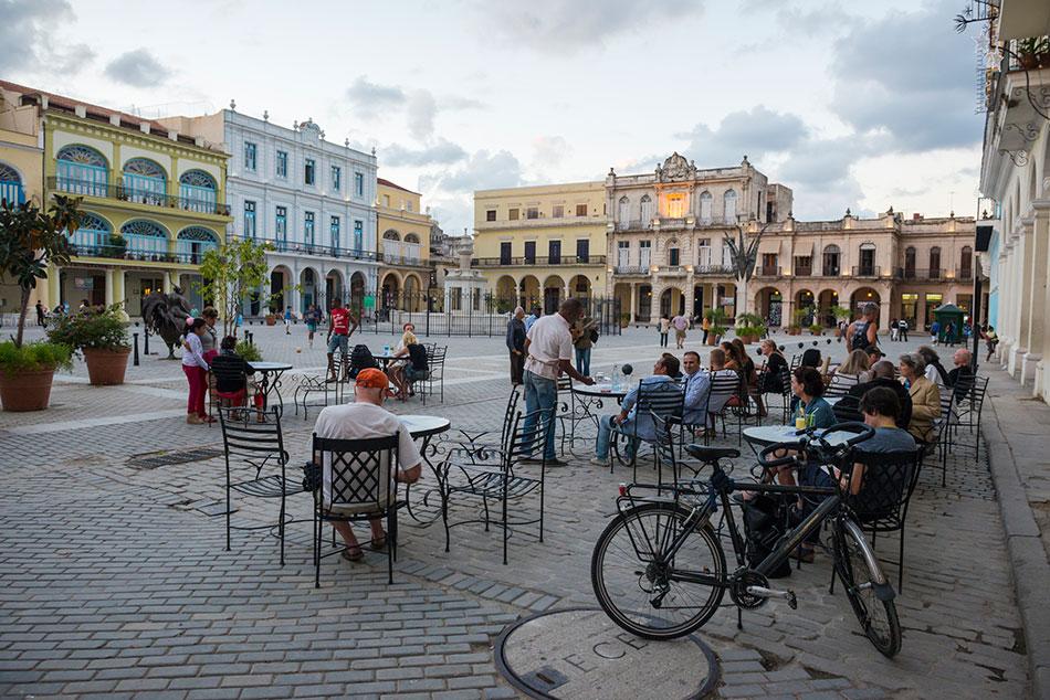 Plaza Vieja in Cuba