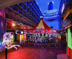 Fun fact Royal Caribbean Oasis of the Seas Carousel