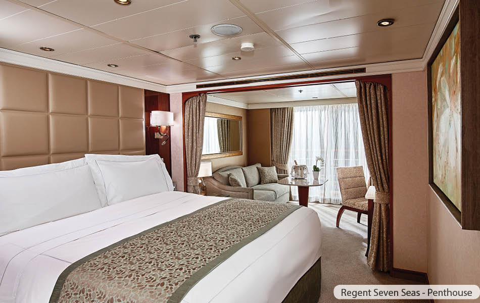 Regent Cruise Line Luxury Suite