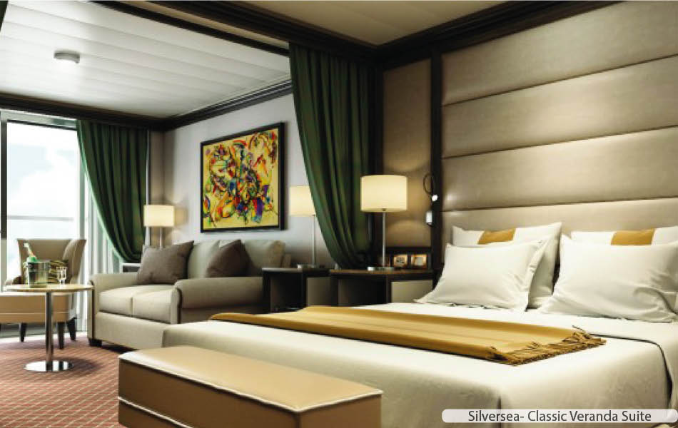Silversea Luxury Suites