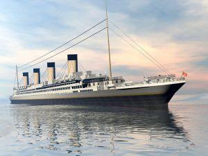 fun fact replica of titanic in construction