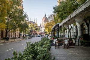 Menza restaurant in Budapest