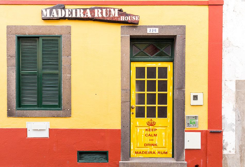 Santa Maria Street in Funchal