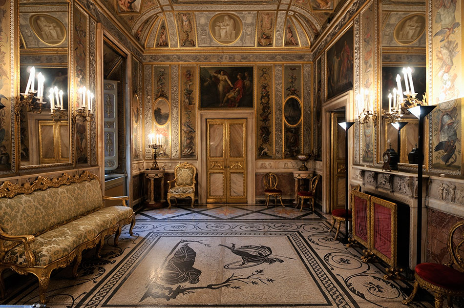 Invest five days to rome around italy cruise bulletin for Italian baroque interior design
