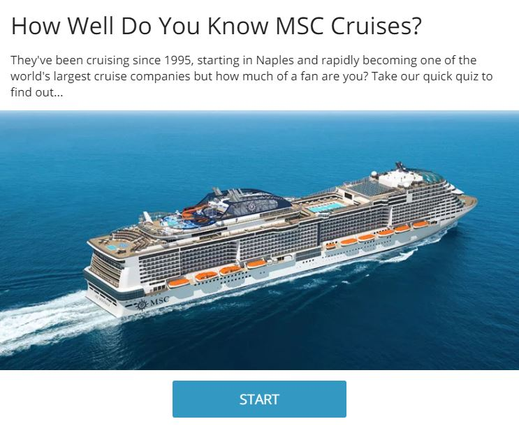 An Introduction to: MSC Cruises - Cruise Bulletin