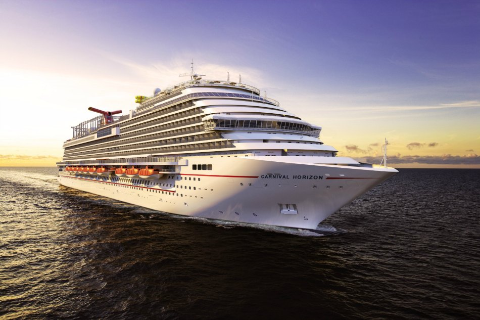 Exclusive Glimpse: Carnival's Biggest Ever Ship Officially On The Horizon