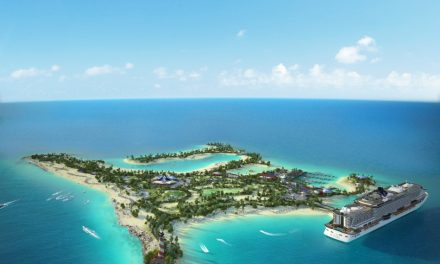 Cruise Line Officially Host Groundbreaking Ceremony For Exclusive Private Island