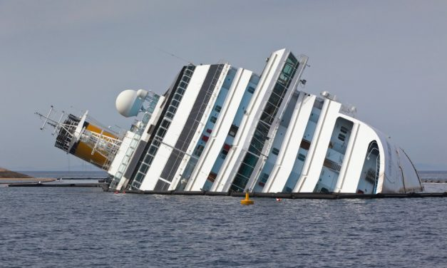 Costa Concordia Torn Apart For Scrap Five Years After Tragedy Struck