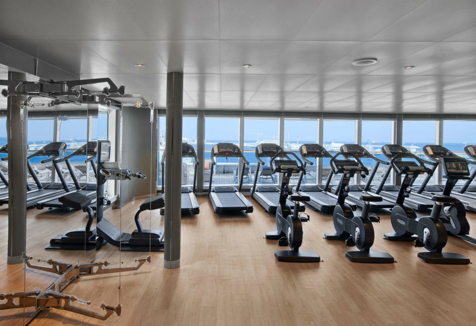 seabourn fitness