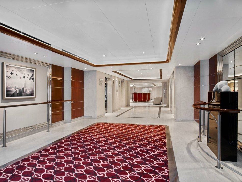 seabourn lobby