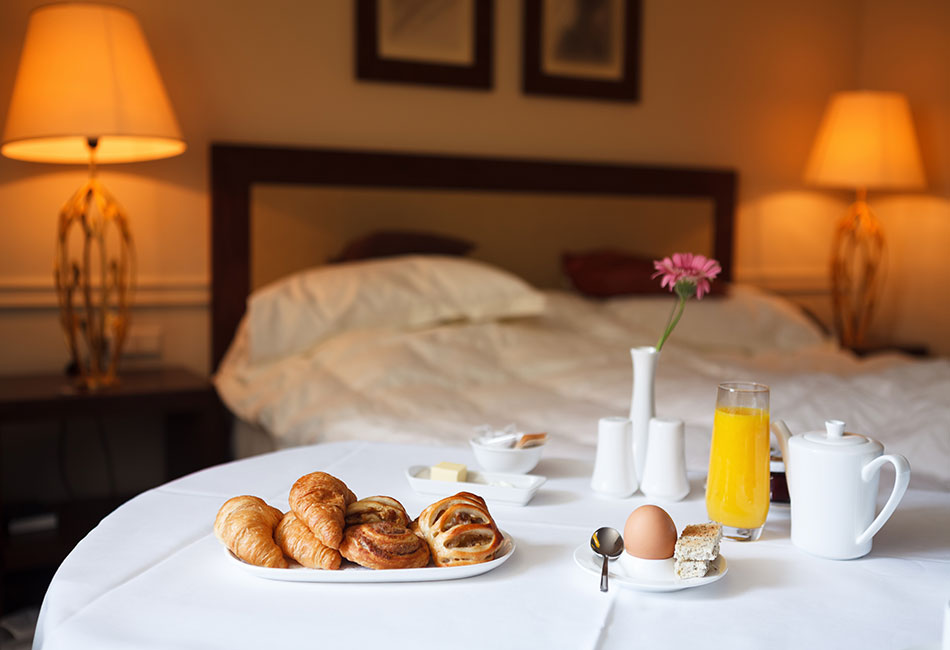 12 things room service