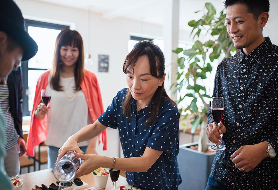 japan pour drink