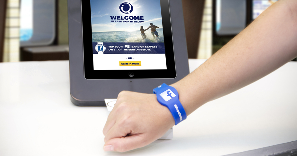 Royal Caribbean Go Strictly Digital: Check-In Only With Your Facebook Account!