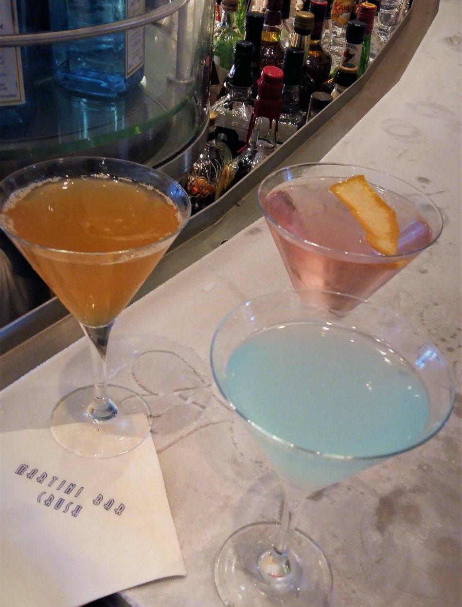 Martini Bar Drinks