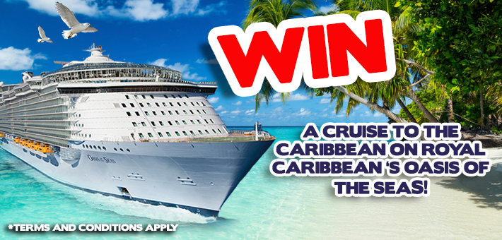 Win a cruise on-board Oasis of the Seas