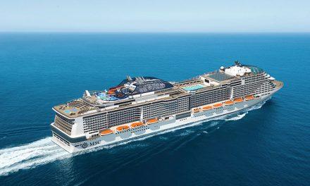 MSC's New Wondrous Ship To Star In TV Series Alongside Celebrity Presenter