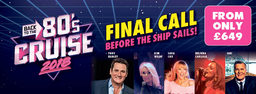 New Exclusives On The Cruise About To Take You Back To This Iconic Era