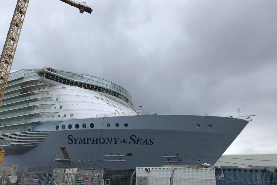 www.CRUISE.co.uk's Insight Into Royal's Final Touches On Symphony Of The Seas!