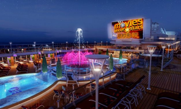 Experience Movies Under The Stars Without Leaving Your Room With Sky Princess' New Suites