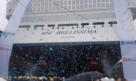 LIVE From St Nazaire As MSC Hit Three Major Milestones With One Surprise Announcement