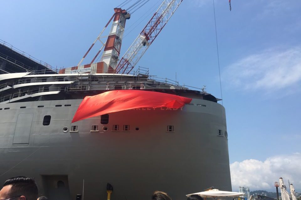 Breaking News: We're At The Reveal Of Virgin Voyage's First Ever Cruise Ship!