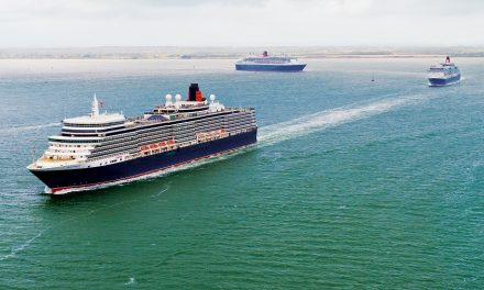 The Three Queens To Sail Together With Famous Red Arrow Display