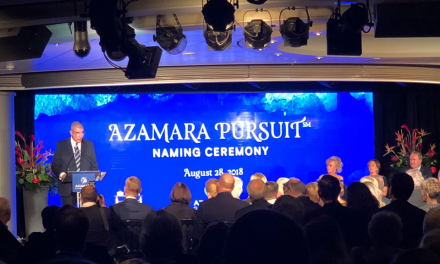 Watch The Azamara Pursuit Naming Ceremony Right Here Ft. Our Exclusive Sneak Peek