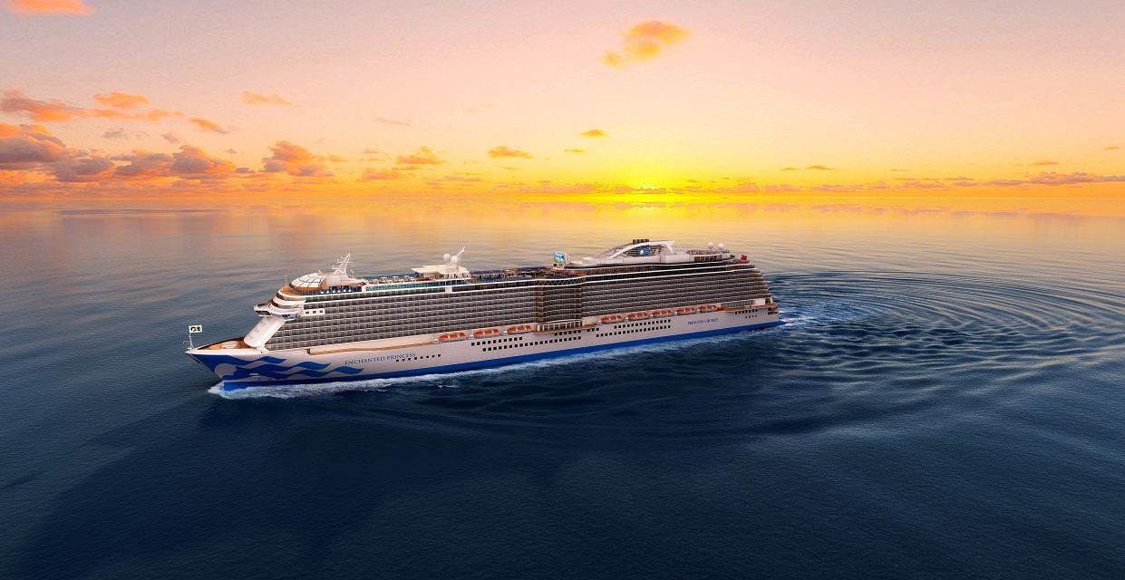 Princess Cruises Announce Enchanted Princess As New Ship Name