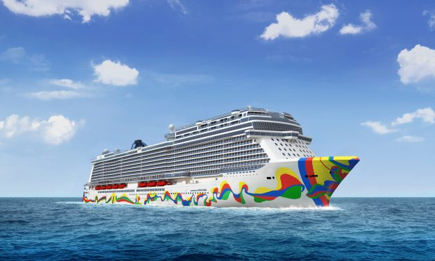 Norwegian Encore's Iconic Hull Art Has Just Been Revealed (And It's Surprisingly Spanish)