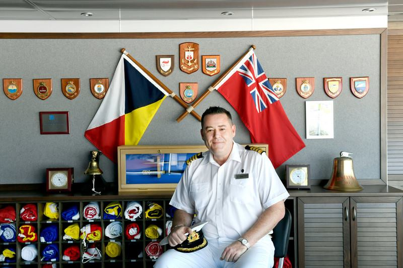 Lights, Camera, Action: Nine Questions With A P&O Cruises Captain!