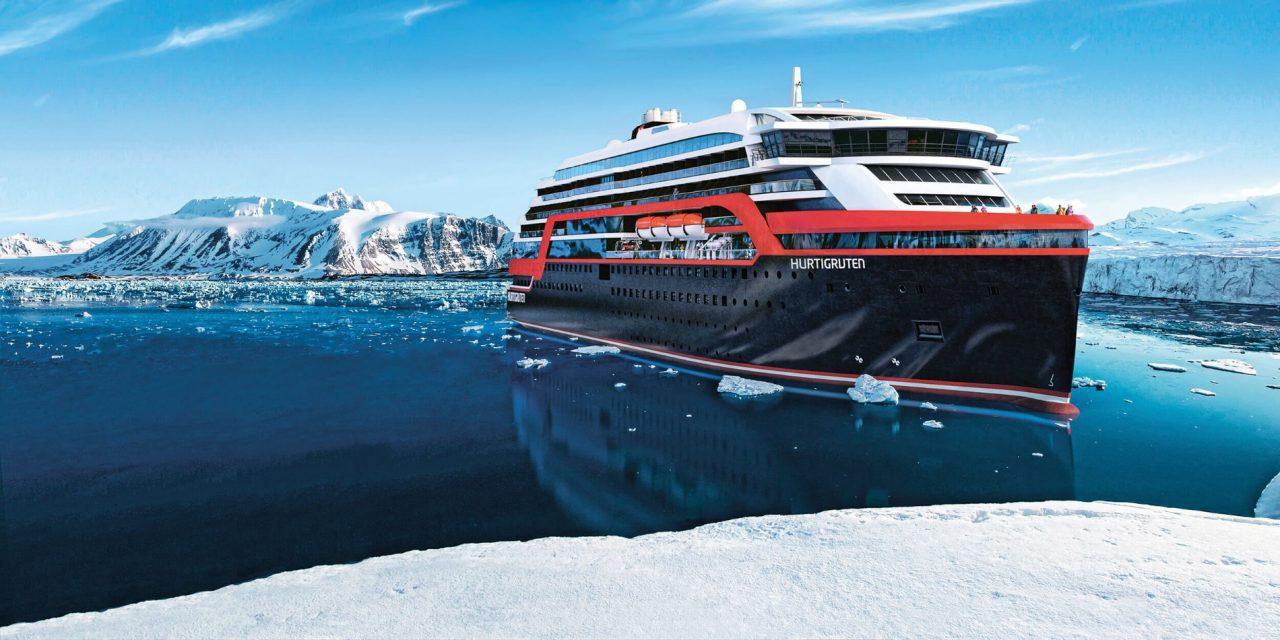 A World First As Hurtigruten Host Ship Christening in Antarctica!