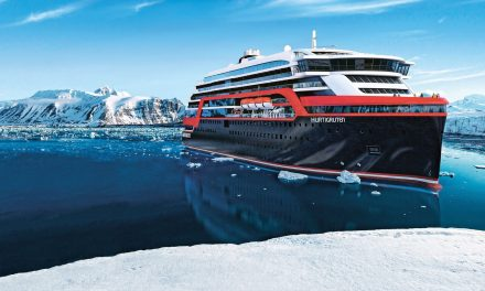 A World First As Hurtigruten Host Ship Christening in Antarctica!