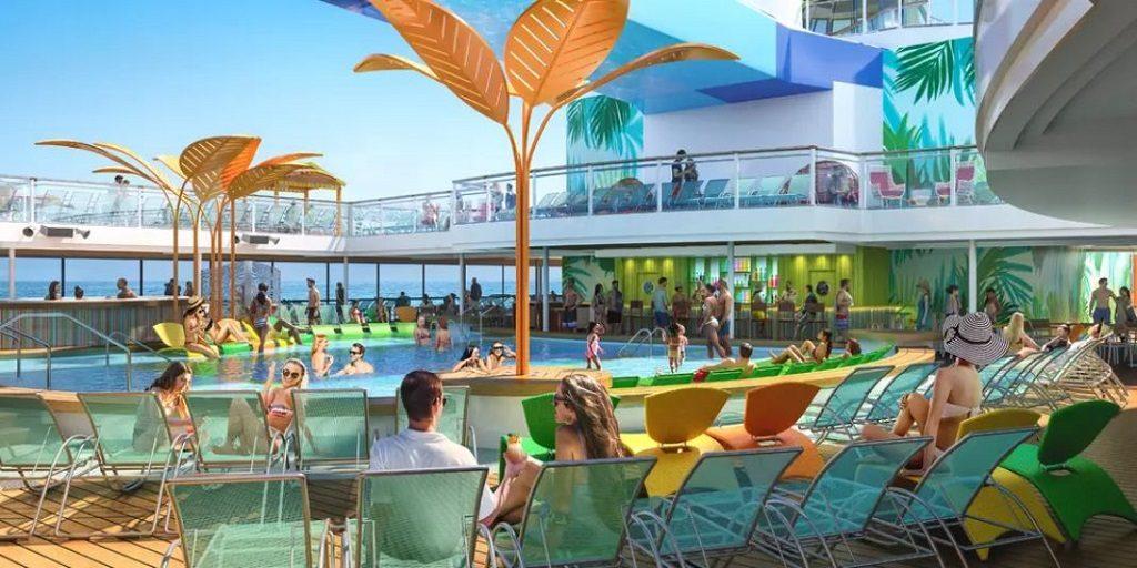 odyssey pool deck