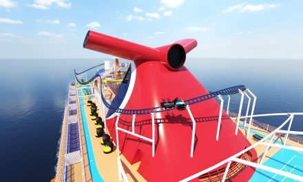 Carnival Cruise Line Unveils More Details About The First Roller Coaster At Sea!