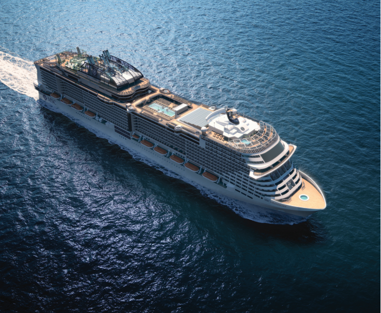 MSC Cruises Takes Delivery of MSC Grandiosa, Their 'Greenest' Ship To Date!