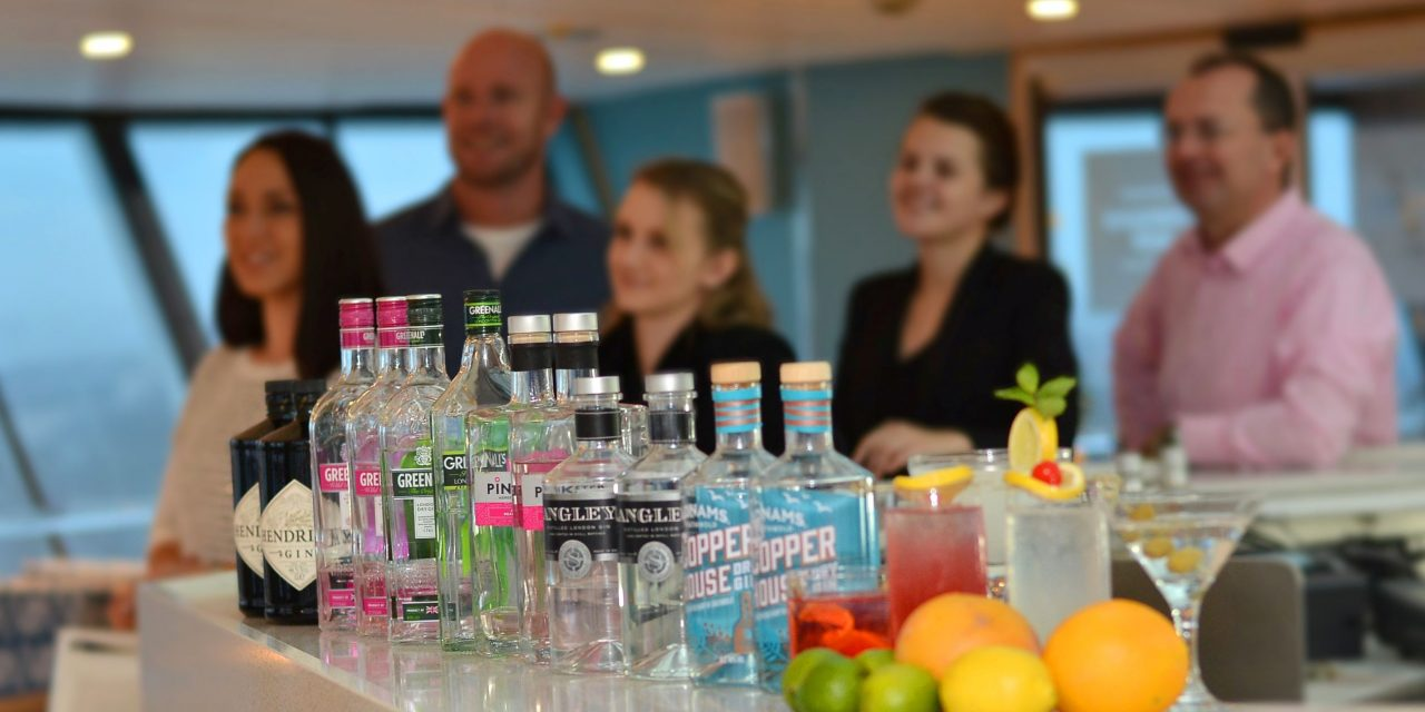 Fred. Olsen Cruise Line Dive Into The Bespoke World of Gin