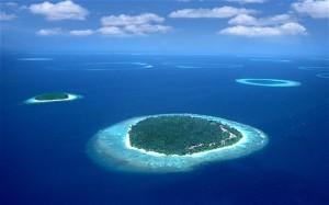 Maledives, group of islands, Maldives
